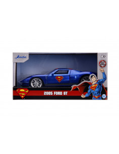 Masinuta Metalica Superman 2005 Ford Gt Scara 1 La 32