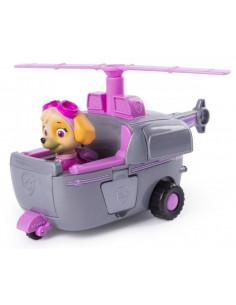 Figurina Cu Autovehicul Paw Patrol Elicopterul Lui Skye