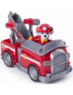 Figurina Si Autovehicul Paw Patrol Marshall Si Masina De