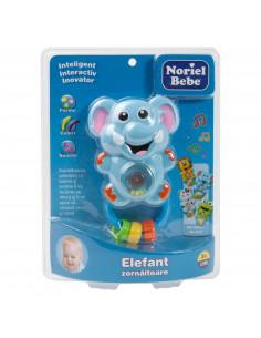 Zornaitoare Elefant, Jucarie Bebelusi Noriel