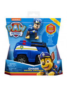 Patrula Catelusilor Vehicule Cu Figurina Chase