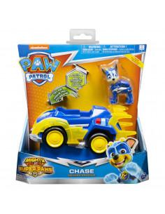 Patrula Catelusilor Super Eroul Chase Cu Masina De Politie