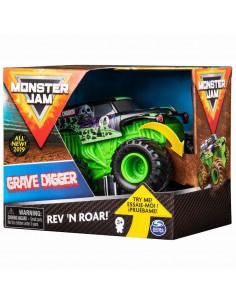 Monster Jam Macheta Grave Digger Seria Roar Scara 1 La 43