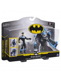 Figurina Nightwing 10cm Cu Mega Accesorii Pentru Lupta