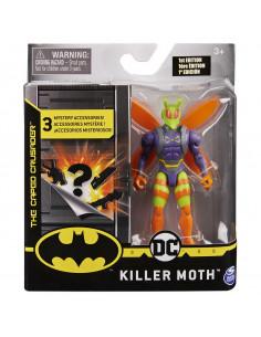 Figurina Killer Moth Flexibila 10cm Cu 3 Accesorii Surpriza
