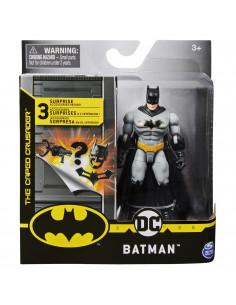 Figurina Batman Costumatie Gri 10cm Cu 3 Accesorii