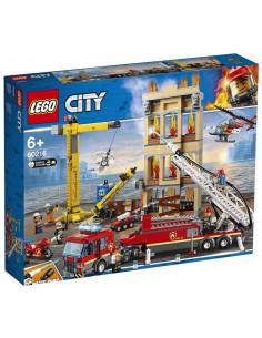 Lego City Divizia Pompierilor Din Centrul Orasului 60216