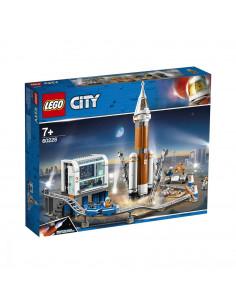 Lego City Space Port RachetĂ Și Centrul De ComandĂ A LansĂrii 60228