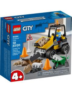 Lego City  Camion Pentru Lucrari Rutiere 60284