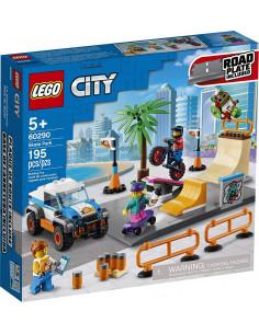 Lego City  Parc De Skateboarding 60290