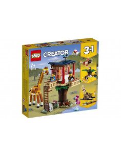 Lego Creator Casuta In Copac Cu Animale Salbatice In 31116