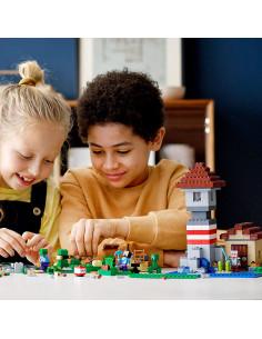 Lego Minecraft Cutie De Crafting 3.0 21161