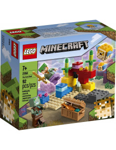 Lego Minecraft Reciful De Corali 21164