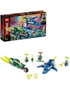Lego Ninjago Masinile Rapide De Curse Ale Lui Jay Și Lloyd 71709