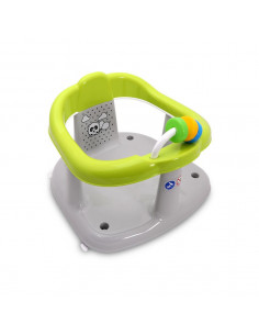 Scaun de baie pentru bebe, antiderapant, Panda, Green
