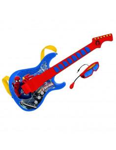 Chitara Cu Ochelari Si Microfon Spiderman Reig Musicales Pentru Copii