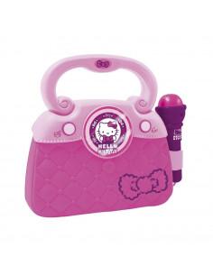 Geanta Cu Microfon Si Amplificator Hello Kitty Reig Musicales Pentru Copii