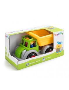 Camion Autobasculanta culori vesele cu 2 figurine