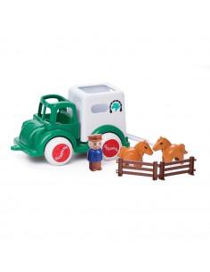 Camion Transport Cai cu figurine