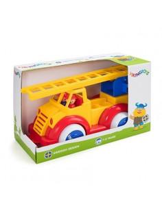 Masina Pompieri cu 2 figurine Super