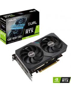 Placa video ASUS Dual GeForce® RTX™ 3060 OC, 12GB GDDR6, 192-bit
