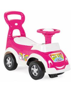 Masina de impins fara pedale Woopie 3 in 1, roz