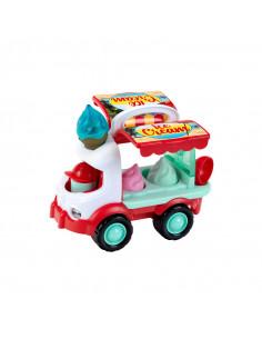 Camionul de inghetata pentru plaja
