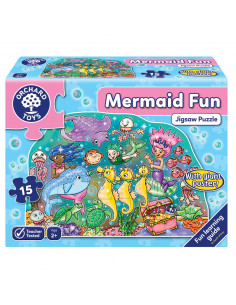 Puzzle de podea Distractia Sirenelor MERMAID FUN PUZZLE