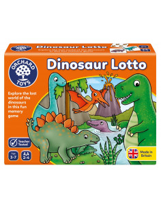 Joc educativ Dinozaur DINOSAUR LOTTO