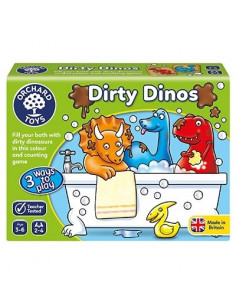 Joc educativ Dinozauri Murdari DIRTY DINOS
