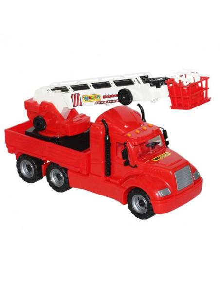 Masina Pompieri Cu Macara Mike Wader, 82 Cm