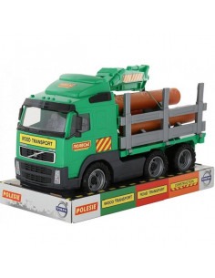 Camion Volvo Powertruck Wader Cu Lemne, 45 Cm