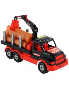 Camion Mammoet Cu Lemne, 47 Cm