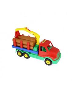 Camion Gigant Wader Cu Lemne, 47 Cm