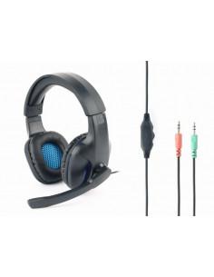 CASTI Gembird, cu fir, gaming, utilizare multimedia, microfon