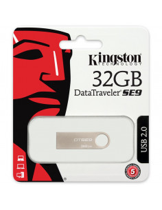 MEMORIE USB 2.0 KINGSTON 32 GB, profil mic, carcasa metalic