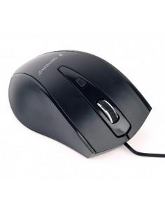 MOUSE GEMBIRD, notebook, PC, cu fir, optic, USB, 1200 dpi, 4/1
