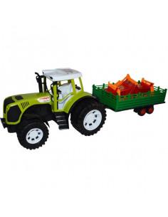 Tractor Farm Cu Remorca Si Utilaj, 54 Cm