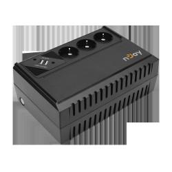 "UPS NJOY, ""RENTON 650"", Line Int., brick, 350VA/360W, AVR"