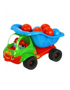 Camion Baczek Cu Mingi Plastic, 40 Cm