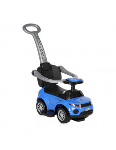Masinuta OFF ROAD + impingator, Blue