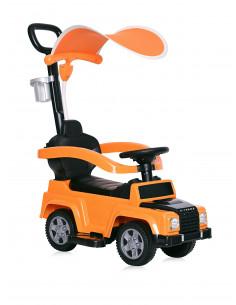 Masinuta de teren, X-Treme, maner parental si copertina, Orange