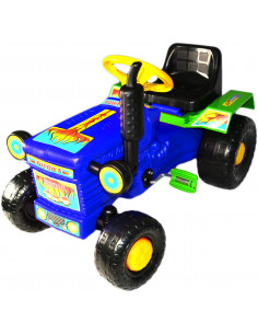 Tractor cu pedale Turbo blue