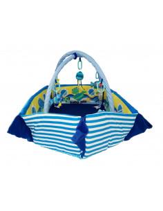 Saltea de joaca cu protectii laterale Boat