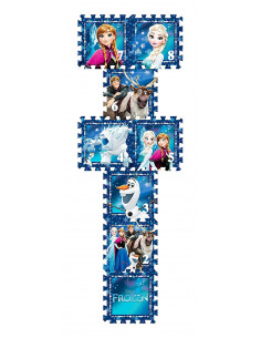 Covor puzzle din spuma Sotron Frozen 8 piese