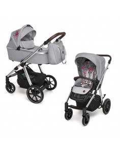 Baby Design Bueno carucior multifunctional 2 in 1 - 107 Gray