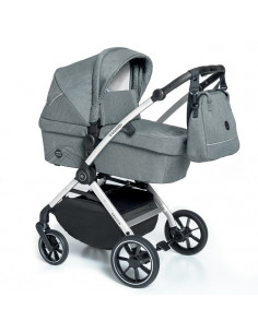Baby Design Smooth carucior multifunctional 2 in 1 - 07 Gray