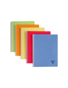 Caiet Clairefontaine Lincolor A4, 90 file, Matematica