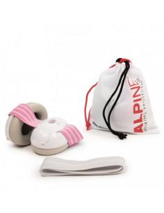 Alpine Muffy Baby Casca impotriva zgomotului antifon - roz