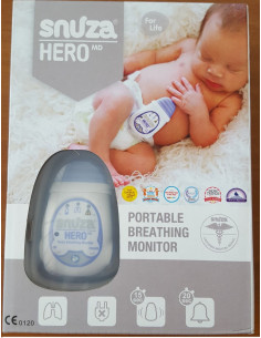Snuza Hero MD monitor de miscare portabil
